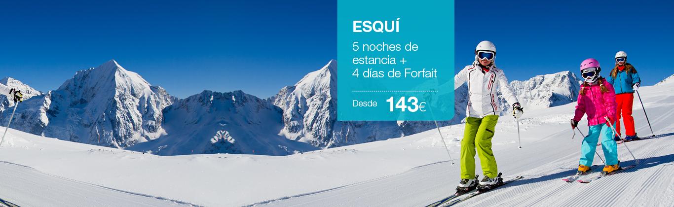 Oferta esquí