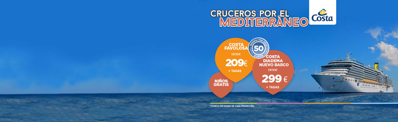 Cruceros Mediterráneo
