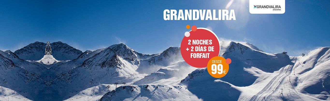 Ofertas esquí Grandvalira