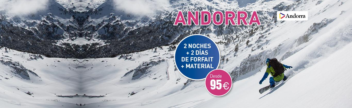 Ofertas esquí Andorra