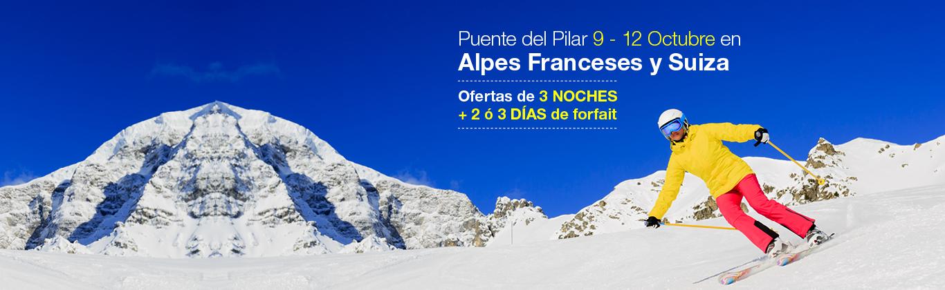 Puente del Pilar - Alpes