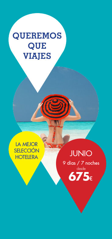 Queremos que viajes al CaribeSper Ofertas JUNIO desde 675&euro;