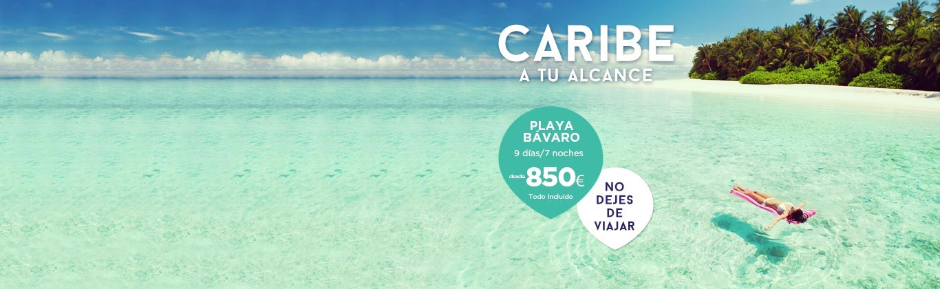 Ofertas Viajes al Caribe