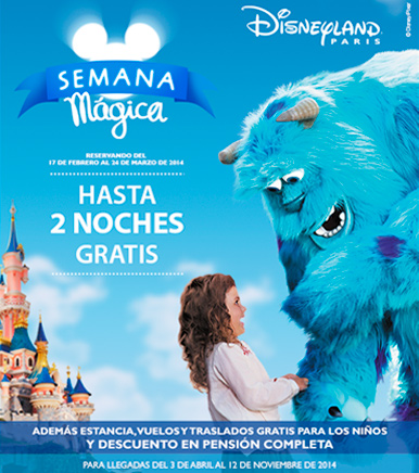 Ofertas de Viajes a Disneyland París Semana Mágica