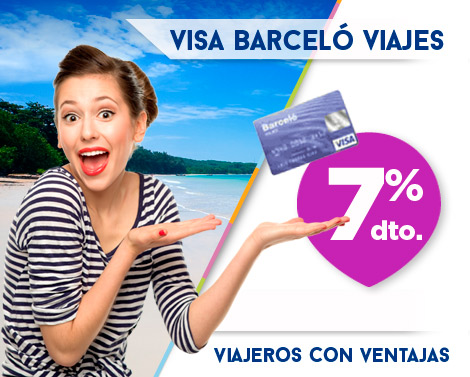 VISA Barceló viajes Viajeros con ventajas