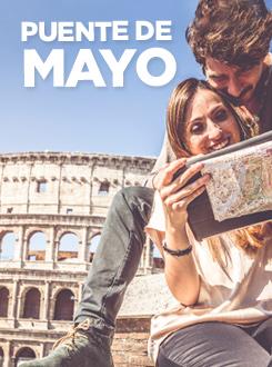 Encuentra las mejores ofertas para este puente de Mayo
