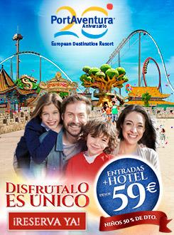 Ofertas Portaventura 2015