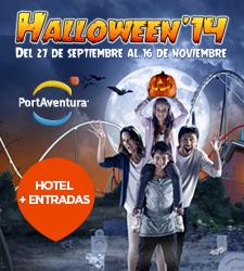 Hallowen en Portaventura