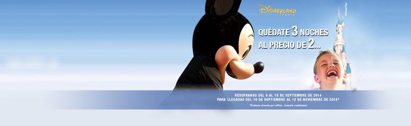 Ofertas viajes Disney