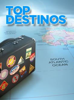 Top destinos